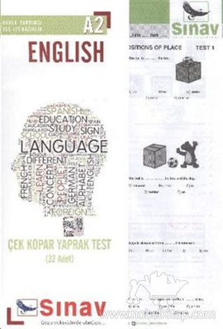 A2 English Language Çek Kopar Yaprak Test (32 Adet)
