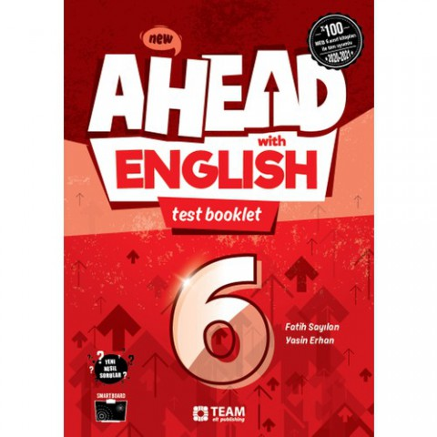 Ahead with English 6 Test Booklet