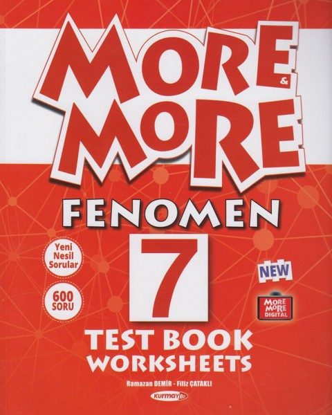 Kurmay Elt 7. Sınıf More More Fenomen Test Book Worksheets