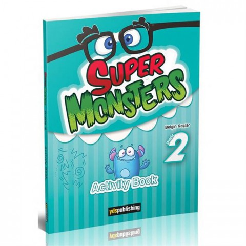 Yds Publishing Yayınları Super Monsters Grade 2 Activity Book